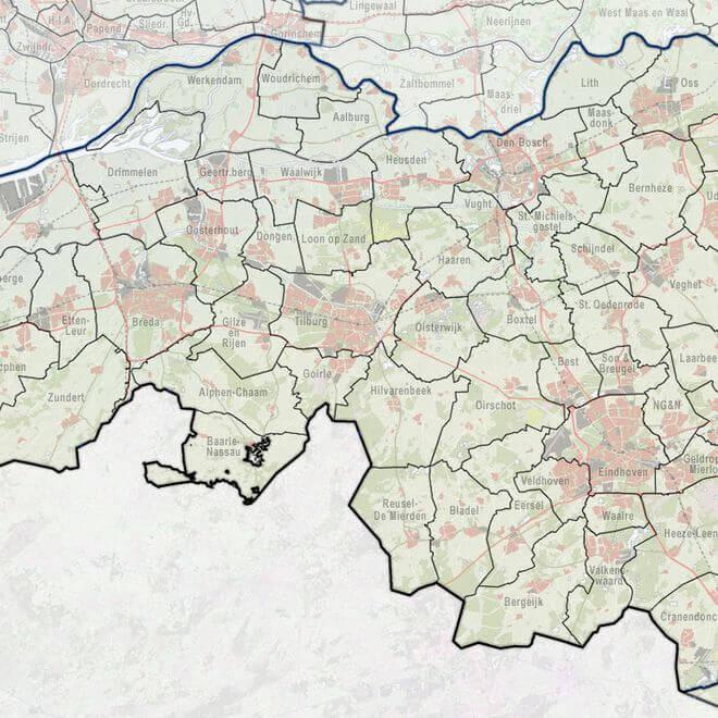 Jarenlang gaven gemeenten grond uit voor nieuwe werklocaties om de gemeentekas te spekken. Noord-Brabant gooit het roer radicaal om, vertelt Cees-Jan Pen.