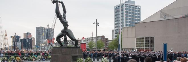 In deze wekelijkse rubriek lichten we een kunstwerk in de openbare ruimte in Nederland uit. Deze week: De verwoeste stad van Ossip Zadkine in Rotterdam.