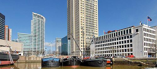 De gemeente Rotterdam en zo'n 35 vastgoedpartijen ondertekenden op 8 juni een convenant om de kantorenleegstand gezamenlijk drastisch aan te pakken.