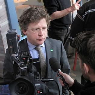 'Samen kunnen we zorgen dat Gelderland de eerste afvalloze provincie wordt', stelt gedeputeerde Michiel Scheffer n.a.v. het Manifest van Almen.