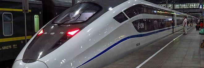 trein naar Beijing