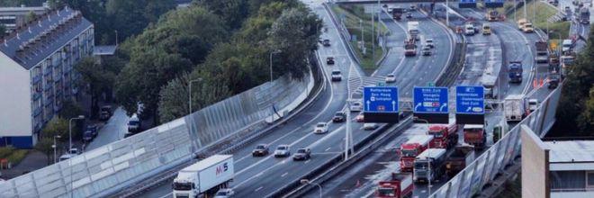 Rli: 'Verdichte stad alleen gezond door ondertunneling rijkswegen'