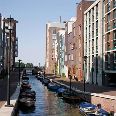 In Amsterdam wordt gebouwd aan een circulaire campus. Op Java-eiland gaan meer dan 400 mensen werken aan innovaties op het gebied van circulaire economie.