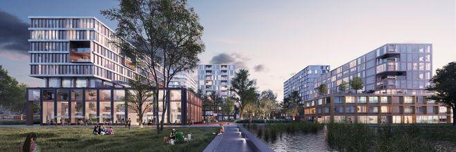 Universiteit Leiden en gemeente Leiden hebben een investeerder gekozen voor een nieuw deel van de Campus Leiden Bio Science Park: het entreegebied