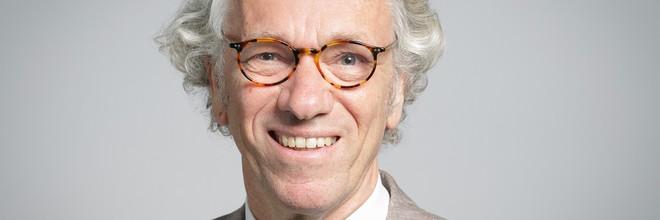 'Decennialang zijn we gewend om zaken sectoraal op te lossen. Zelfs ruimte werd op een gegeven moment als een sector gezien', zegt Hans Leeflang.