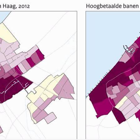 In economisch succesvolle stijgt de stedelijke ongelijkheid, net als de segregatie van de laagstbetaalden. Ruimtelijke interventies bieden beperkt soelaas.