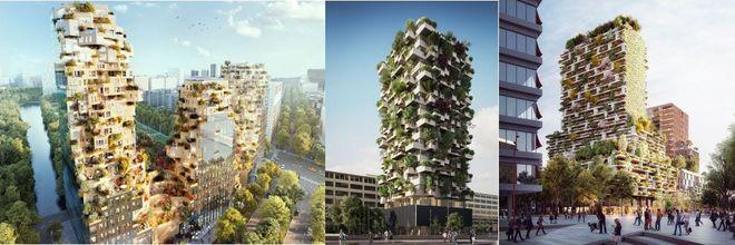 Ze roepen affectie op, de met bomen begroeide gevels van woontorens. Maar in hoeverre vormen ze dé groenoplossing voor de compacte stad?