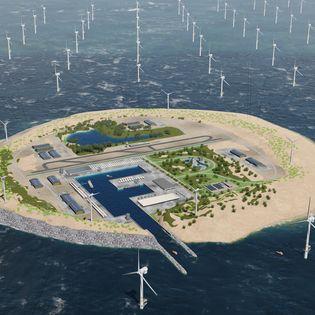 Tennet wil een eiland aanleggen waarop we in de Noordzee windparken kunnen aansluiten. Afgelopen week presenteerde de netbeheerder een nieuwe visie.