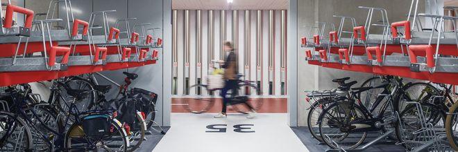 De fietsstalling Stationsplein op Utrecht CS is gisteren officieel geopend