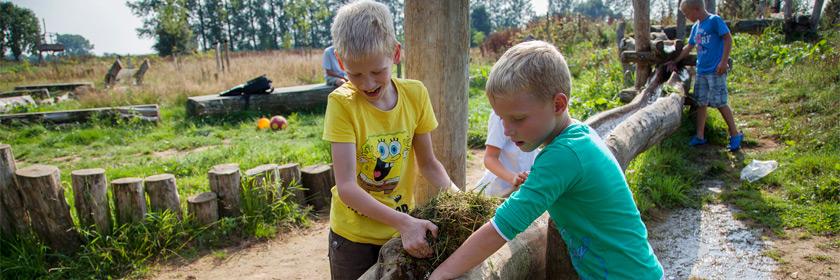 De provincie Overijssel ontwikkelt vier natuurspeelplaatsen in samenwerking met Cool Nature, een initiatief dat spelen in de natuur bevordert.