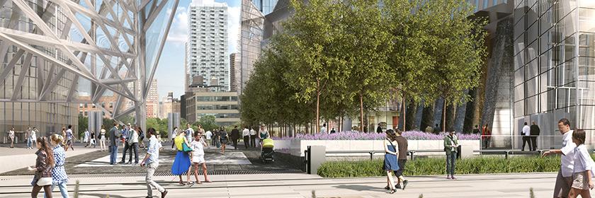 In hartje New York City pakken ze het groots aan. Op een oppervlakte van zo'n 11 hectare verrijst Hudson Yards, een proeftuin voor datagestuurde stedebouw.