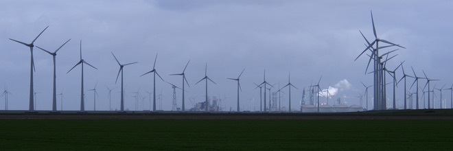 Windmolens Eemshaven