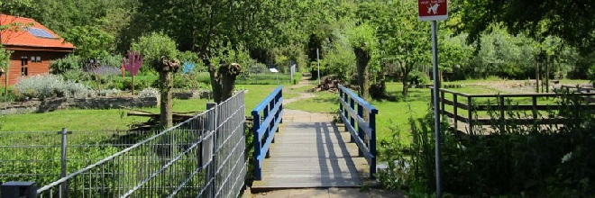 Het terrein voor Natuur- en Milieueducatie wordt verder ontwikkeld voor het Voedselpark.