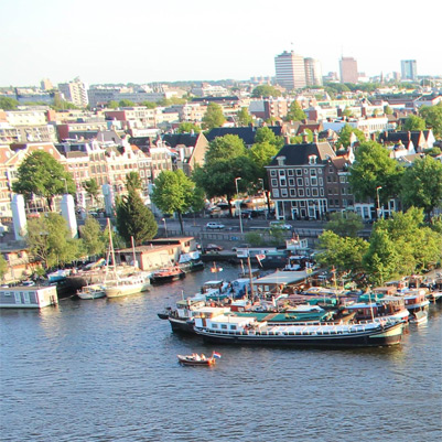 Amsterdam concurrentiepositie
