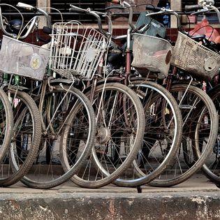 Het fietsen in Nederland lijdt onder zijn eigen succes, stelt Jon Bellis. Er zijn veel knelpunten: fietsparkeren en snelheidsverschillen bijvoorbeeld.