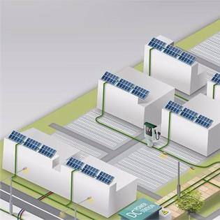Op het nieuwe bedrijventerrein Lelystad Airport Businesspark wordt de komende jaren het eerste publieke gelijkstroomnet ter wereld aangelegd.