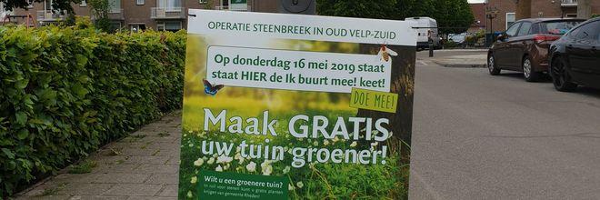 Het zuiden van Velp is een van de wijken van de gemeente Rheden die de meeste hittestress kent. 'Tijd voor een vergroeningsslag'.
