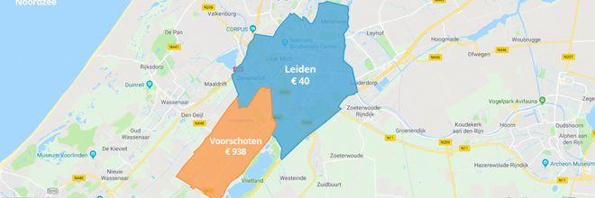 Dakkapel tot 23x duurder bij de buren: grote verschillen tussen gemeenten