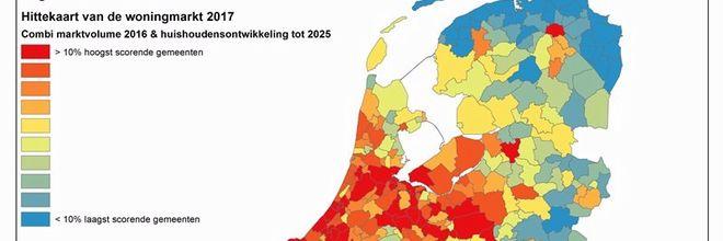 Naast de van oudsher populaire steden Amsterdam, Utrecht en Den Haag zijn de middelgrote steden zoals Haarlem, Amersfoort en Nijmegen steeds meer in trek onder woningzoekenden