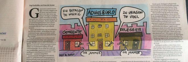 'Gewilde vrijemarkthuizen geremd door gemeenten' kopte het FD op 20 mei. Een onterecht verwijt aan het adres van gemeenten, aldus De Zeeuw en Fackeldey.