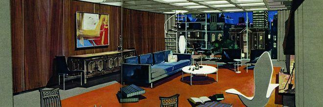 Playboy's apartment = de stad