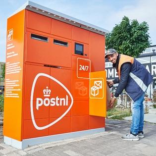 Pakket- en briefautomaat