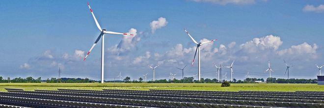 Groen waterstof wek je op met zon en wind